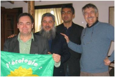 Patrick, Galan, Sergio et moi